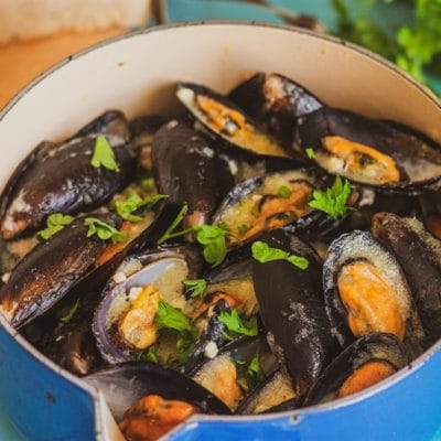 Buzara Mussels - Croatian Traditional Food