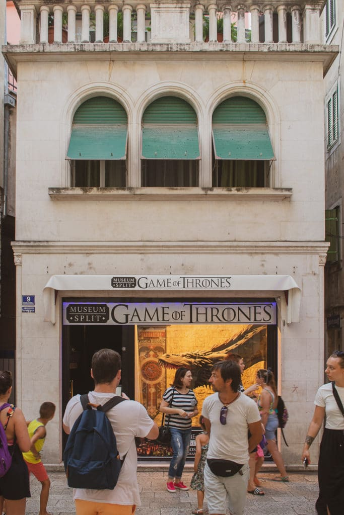 the most important places to visit in Split - Game of Thrones Museum