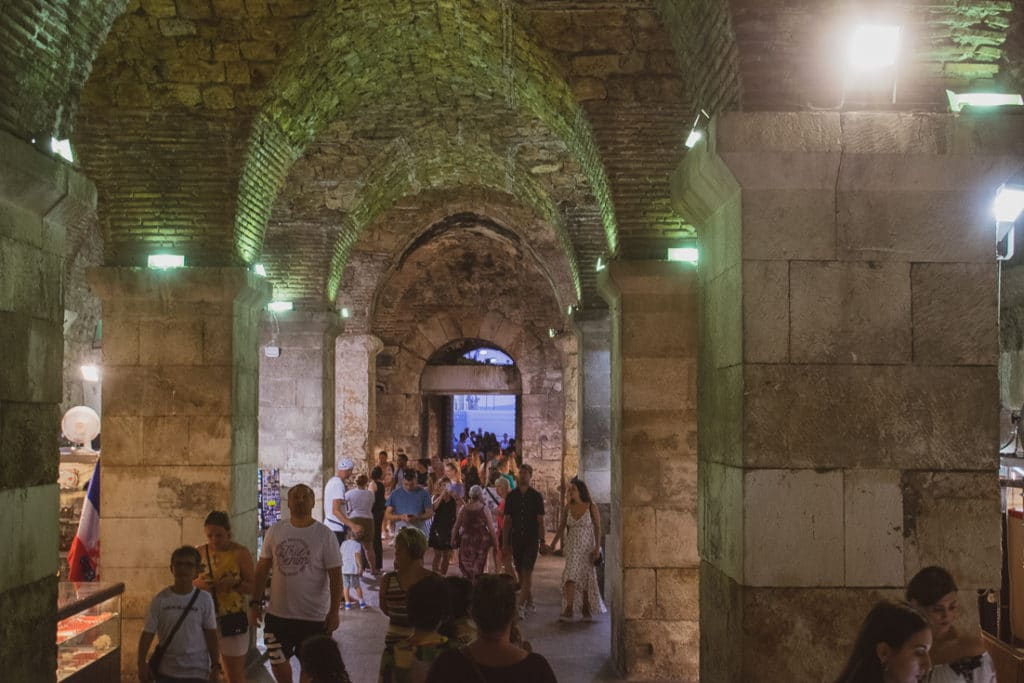 the most important places to visit in Split - Diocletian's cellars