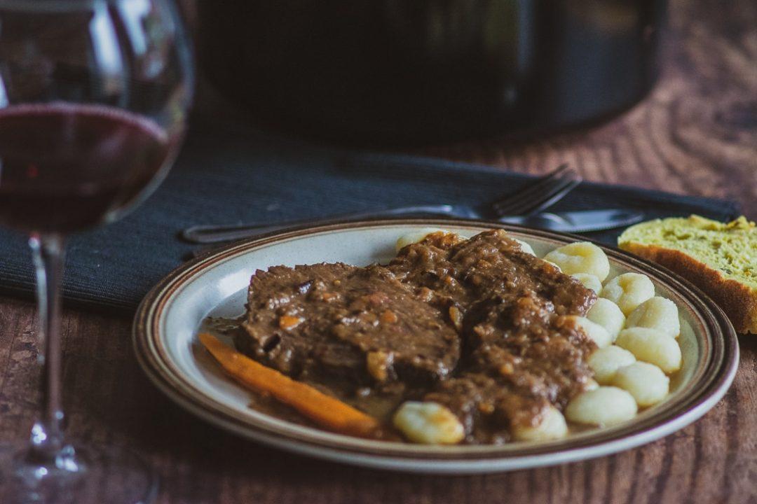 pašticada - traditional Croatian dish