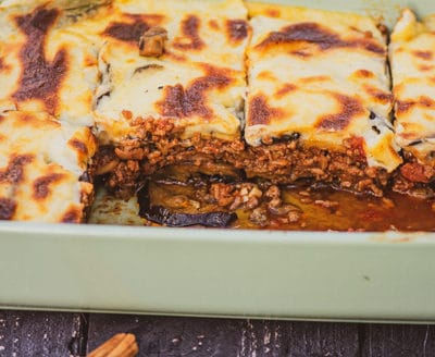 Greek Moussaka - Traditional Greek Cuisine