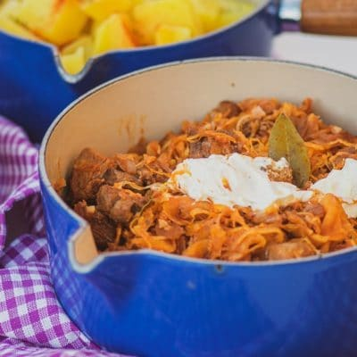 Szekely Goulash - Traditional Hungarian Dish