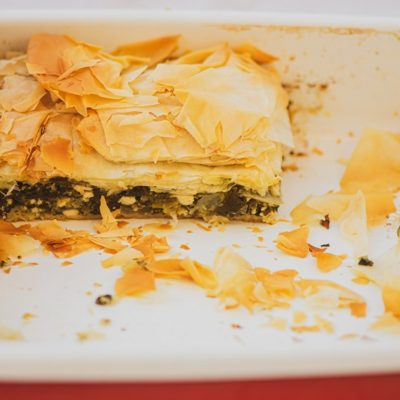 Spanakopita - Traditional Greek Pie