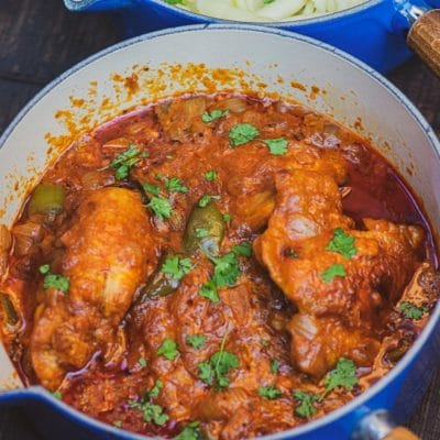 Hungarian Chicken Paprikash (Csirkepaprikás)