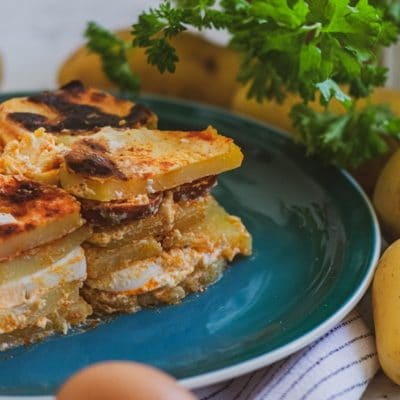Rakott Krumpli - Traditional Hungarian Dish