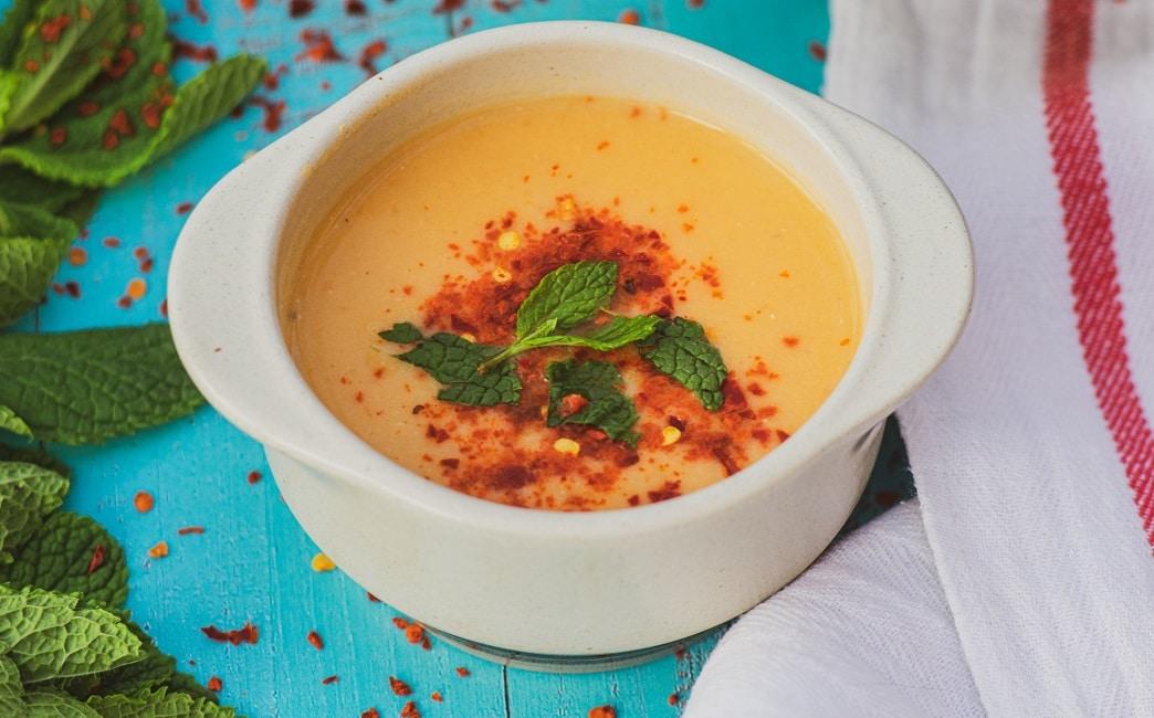 Red Lentil Soup  (Mercimek Çorbası)