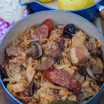 Bigos - Polish Hunter Stew
