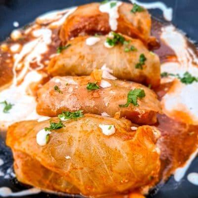 Traditional Polish Dish - Golabki