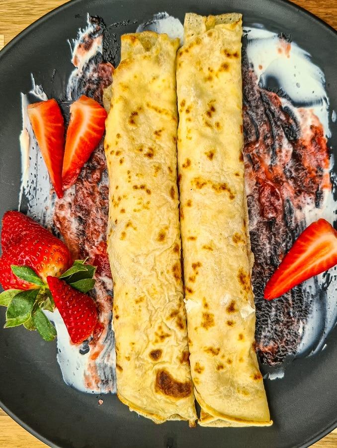Polish pancakes (Nalesniki) - Traditional Polish Delicacy