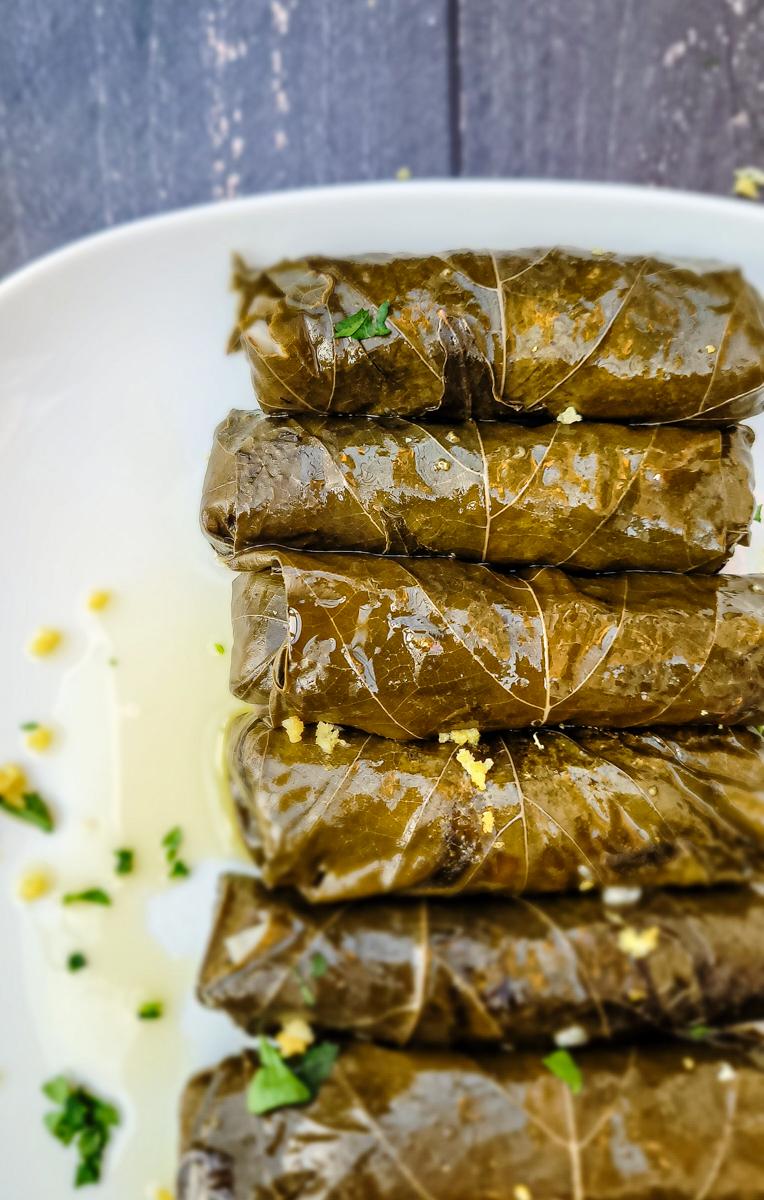 Yaprak Sarma Recipe | Turkish Stuffed Grape Leaves