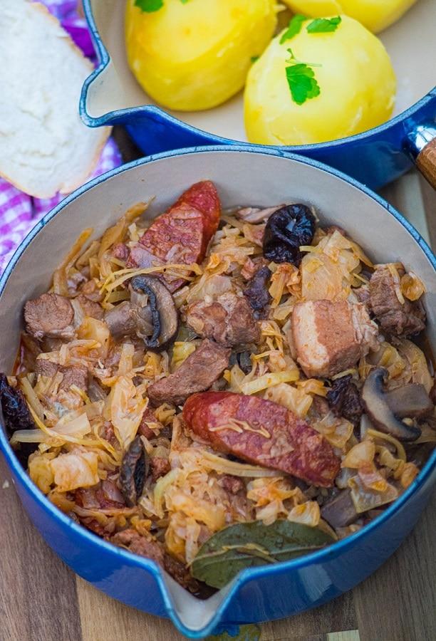 Bigos - Traditional Polish Hunter Stew