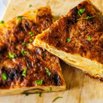 Tortilla Espanola - Traditional Spanish Dish
