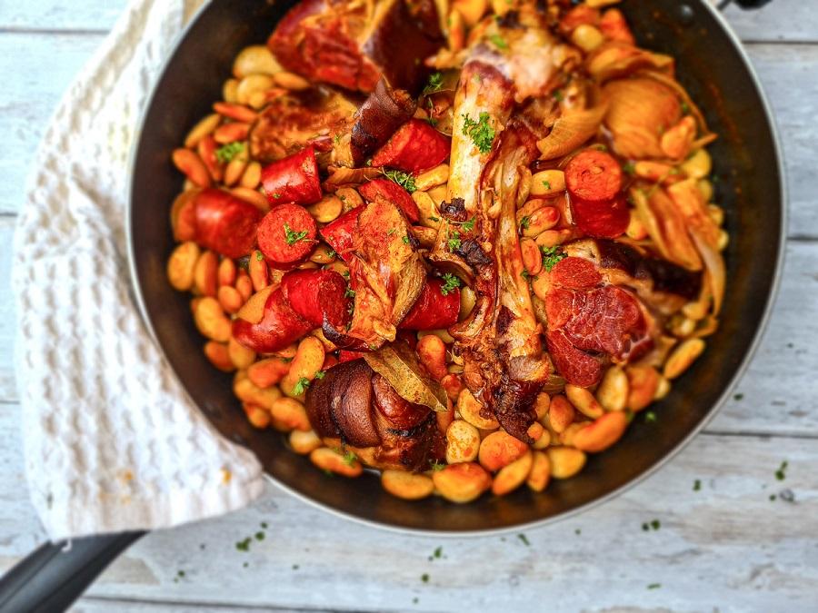 Fabada Asturiana Recipe | Spanish Bean Stew | The Signature Dish for Asturias
