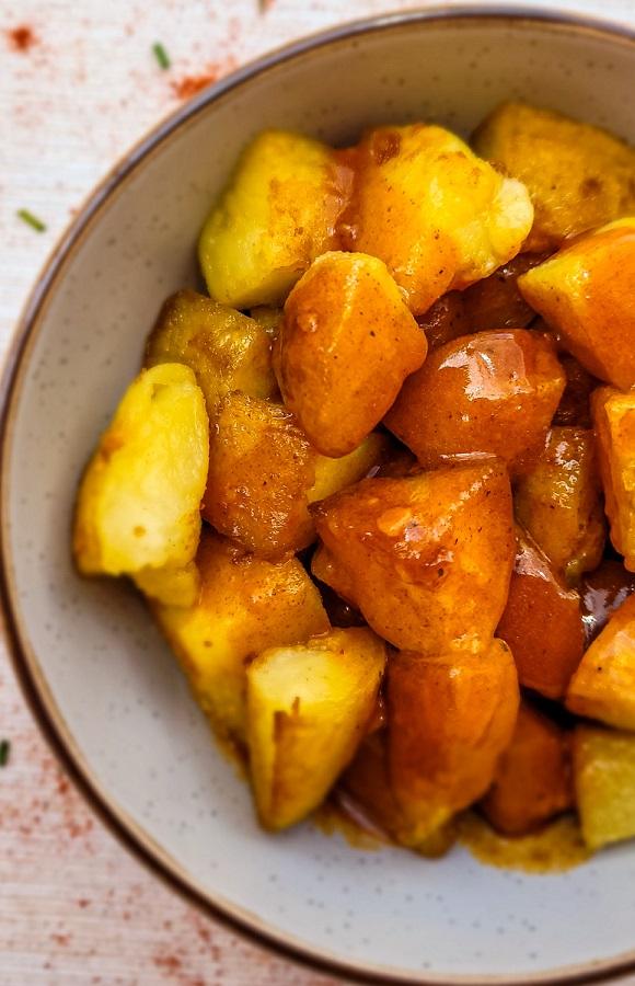 Patatas Bravas Recipe| Spanish Spicy Potatoes | The Spanish 'French Fries'