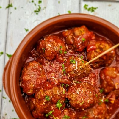 Albondigas - Traditional Spanish Tapas